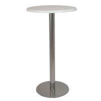 Alquiler de mesas altas para reuniones en ferias