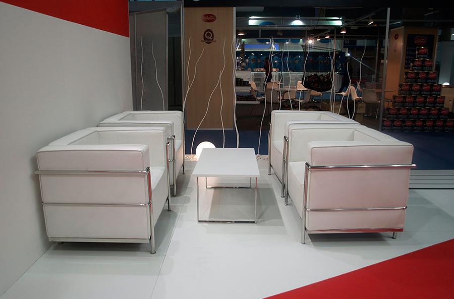 Mobiliario para eventos navideños