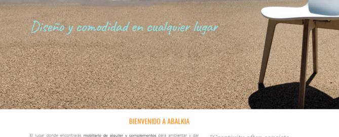nueva web abalkia