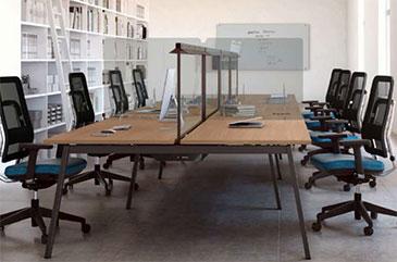 Cómo reacondicionar las oficinas para trabajar sin riesgos de Covid-19