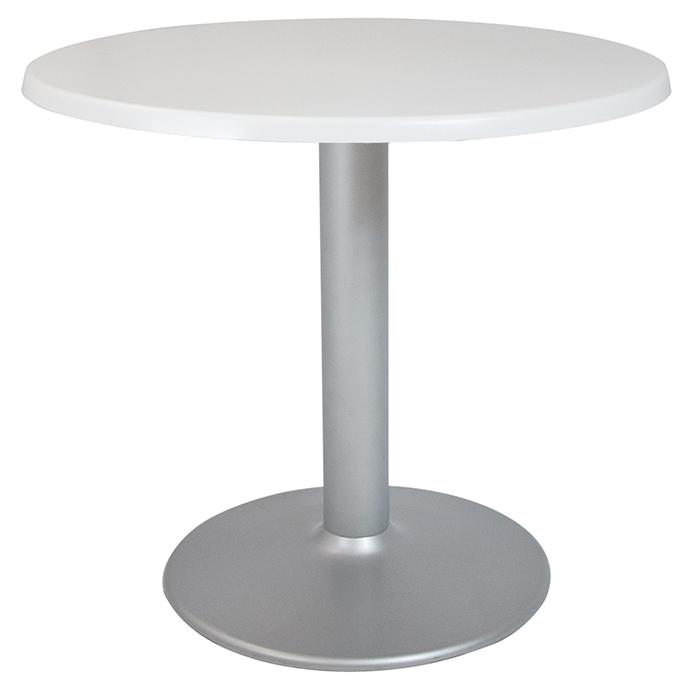 Alquiler de Mesas Copa plata blanca redonda