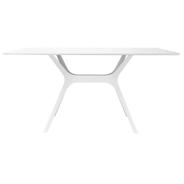 Alquiler de Mesas Llaüt blanca rectangular