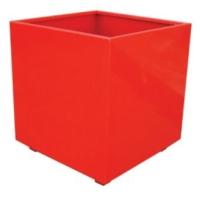 Alquiler de Complementos Jardinera acero roja