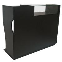 Alquiler de Complementos Mostrador vitrina negro