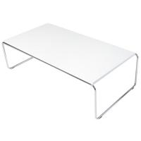 Mesa de centro de madera blanca Nantes,