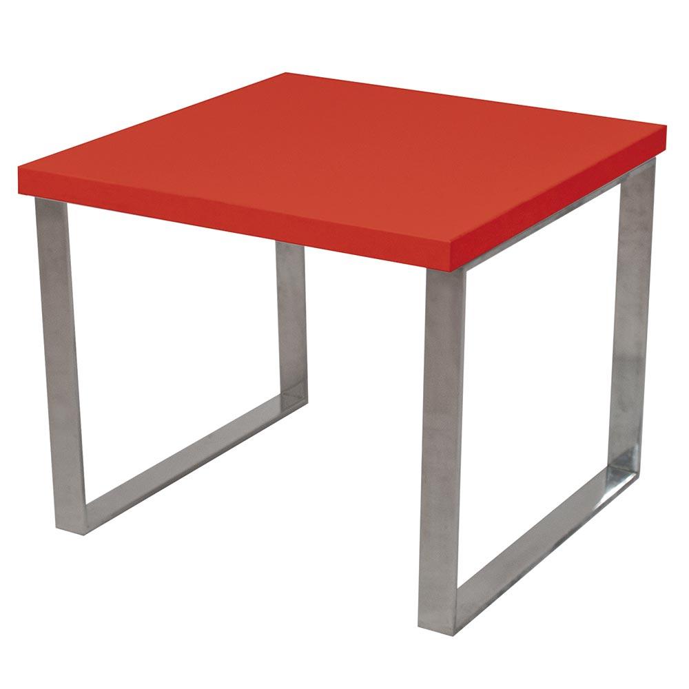 Alquiler de Mesas de centro Pbar roja